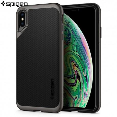 Carcasa Spigen iPhone XS Max Neo Hybrid, Gunmetal