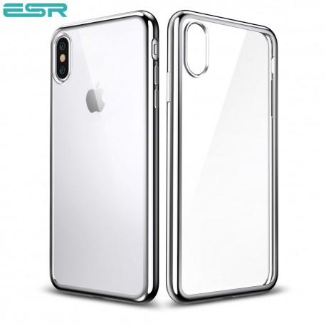 Husa slim ESR Eseential Twinkler iPhone X, Silver