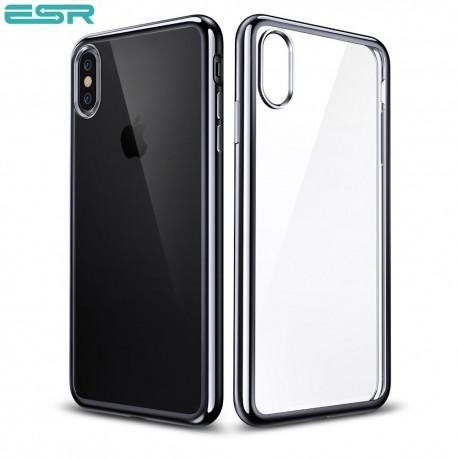 huge selection of ea550 a0965 ESR Eseential Twinkler slim cover for iPhone X, Black