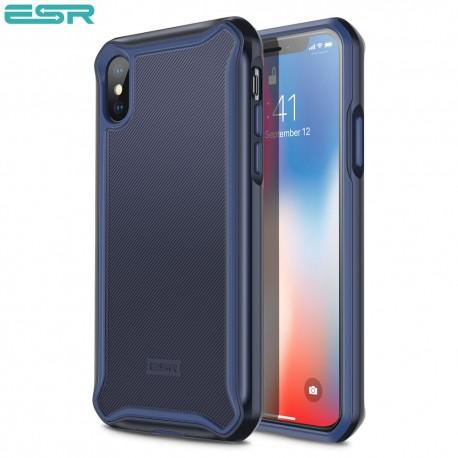 ESR Glacier case for iPhone X, Purplish Blue