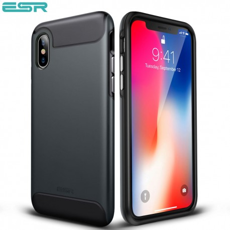 Carcasa ESR Rambler iPhone X, Black
