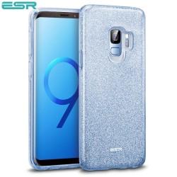 Carcasa ESR Makeup Glitter Samsung Galaxy S9, Blue