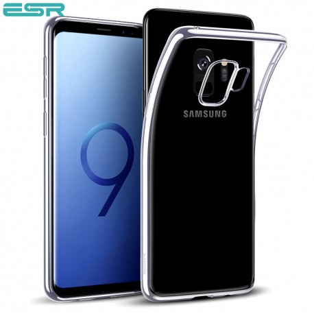 ESR Essential Twinkler slim cover for Samsung Galaxy S9, Silver