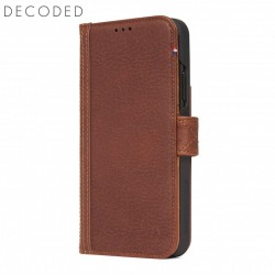 Carcasa piele Decoded Card Wallet iPhone XS Max, Brown