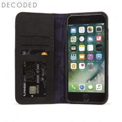 Carcasa piele Decoded Wallet Case iPhone 8 Plus, 7 Plus, 6s Plus , 6 Plus, Black