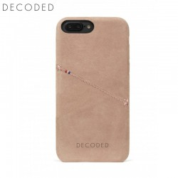 Carcasa piele Decoded Back Cover iPhone 8 Plus, 7 Plus, 6s Plus, 6 Plus, Rose