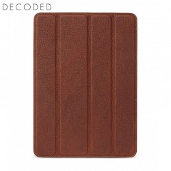 Carcasa piele Decoded Tablet Slim Cover iPad 9,7 inchi 2017 si 2018, Brown