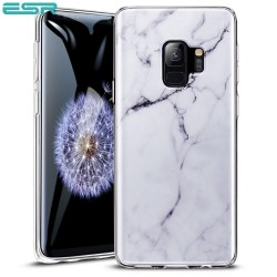 ESR Marble case for iPhone X, White Sierra