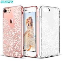 Carcasa ESR Totem iPhone 8 / 7, Lace Ice Flower