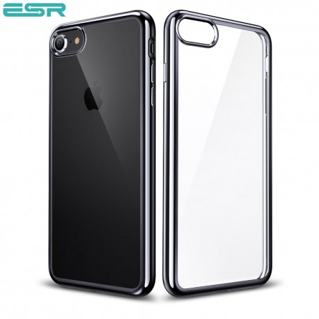 Husa slim ESR Essential Twinkler iPhone 8 / 7, Black