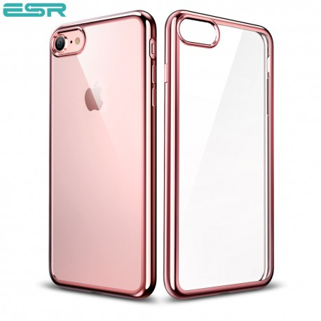 Husa slim ESR Essential Twinkler iPhone 8 / 7, Rose Gold
