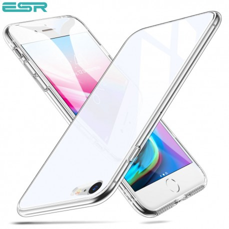 ESR Mimic 9H Tempered Glass case for iPhone 8 / 7, White