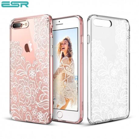 ESR Totem case for iPhone 8 Plus / 7 Plus, Lace Ice Flower