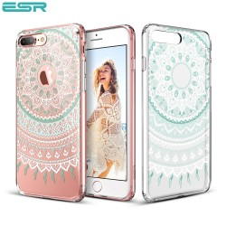 Carcasa ESR Totem iPhone 8 Plus / 7 Plus, Mint Mandala