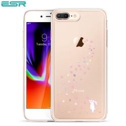 Carcasa ESR Mania iPhone 8 Plus / 7 Plus, Floral Bunny