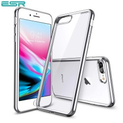 Husa slim ESR Essential Twinkler iPhone 8 Plus / 7 Plus, Silver