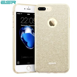 ESR Makeup Glitter case for iPhone 8 Plus / 7 Plus, Champagne Gold