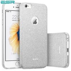 Carcasa ESR Makeup Glitter iPhone 6s Plus / 6 Plus, Maze Silver