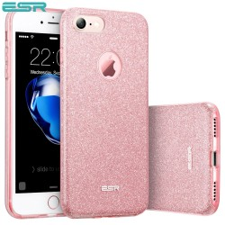 ESR Makeup Glitter Sparkle Bling case for iPhone 8 / 7, Rose Gold