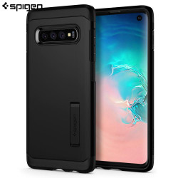 Spigen Samsung Galaxy S10 Case Tough Armor, Black