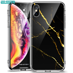 ESR Mimic-Marble case for iPhone XS / X, Black