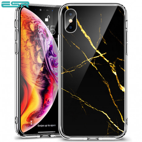 ESR Mimic-Marble case for iPhone XS Max, Black