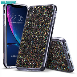 Carcasa ESR Glitter iPhone XR, Black