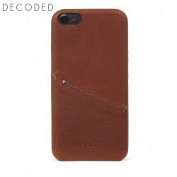 Husa piele capac spate pentru iPhone 8 / 7 / 6s / 6 (4,7 inch) Decoded maro