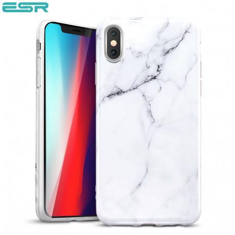 Carcasa ESR Marble iPhone XS Max, White
