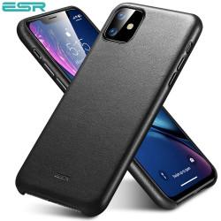 Carcasa ESR Metro Leather iPhone 11, Black