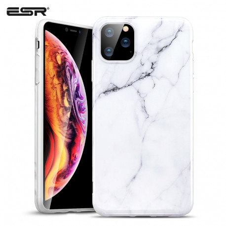 Carcasa ESR Marble iPhone 11 Pro Max, White