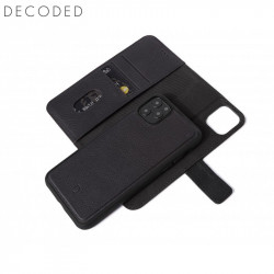 Decoded leather Detachable Wallet for iPhone 11 Pro Max, Black