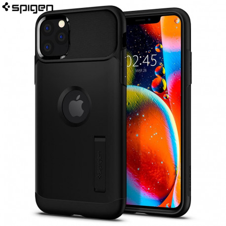 Spigen iPhone 11 Pro Case Slim Armor, Black