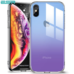 ESR Mimic case for iPhone XS / X, Purple Blue