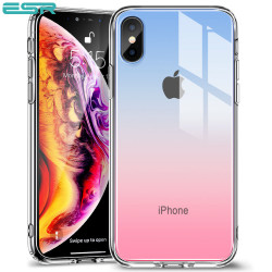 Carcasa ESR Mimic iPhone XS Max, Red Blue