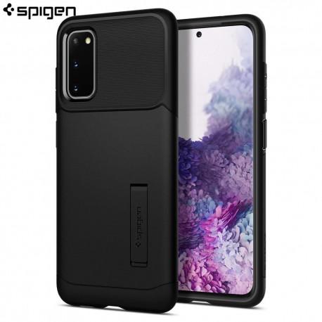 Spigen Samsung Galaxy S20 Case Slim Armor, Black