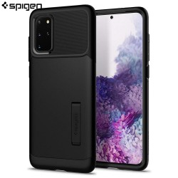 Spigen Samsung Galaxy S20 Plus Case Slim Armor, Black