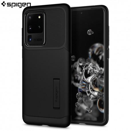 Carcasa Spigen Samsung Galaxy S20 Ultra Case Slim Armor, Black