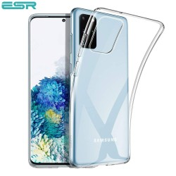 ESR Essential Zero Slim Clear Soft TPU Case for Samsung Galaxy S20 Plus, Clear