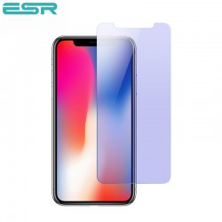 Folie sticla securizata ESR, Tempered Glass iPhone XS / X , Anti Blue