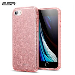 Carcasa ESR iPhone SE 2020 / 8 / 7 Makeup Glitter Case, Rose Gold