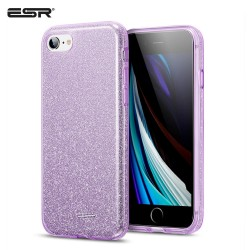 ESR iPhone SE 2020 / 8 / 7 Makeup Glitter Case, Purple