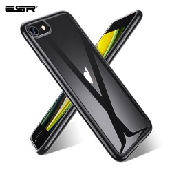 Carcasa ESR iPhone SE 2020 / 8 / 7 Essential Crown slim cover, Black