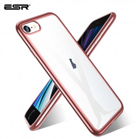 ESR iPhone SE 2020 / 8 / 7 Essential Crown slim cover, Rose Gold