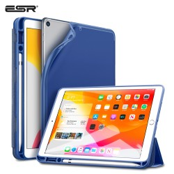 Carcasa ESR Rebound Pencil iPad 10.2 2019, Navy Blue