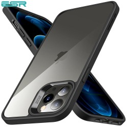 ESR Classic Hybrid - Black frame - Clear back case for iPhone 12/12 Pro