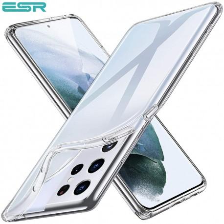 ESR Essential Zero Slim Clear Soft TPU Case for Samsung Galaxy S21 Ultra, Clear