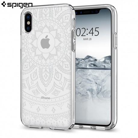 Carcasa Spigen iPhone X Case Liquid Crystal Shine