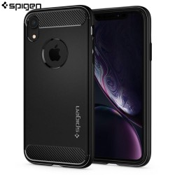 Carcasa Spigen iPhone XR Rugged Armor, Matte Black